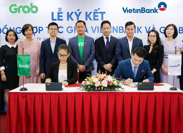 VietinBank và Grab hợp tác chiến lược lĩnh vực công nghệ, tài chính - Ảnh 1.