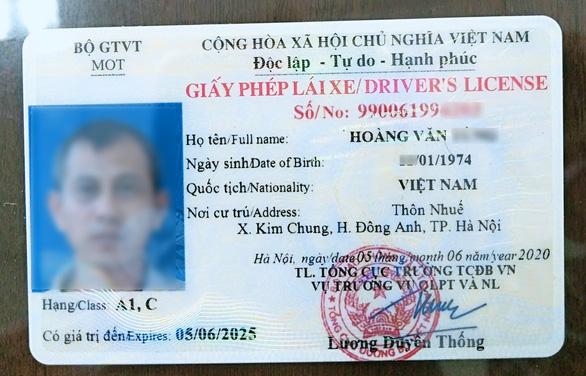 Bằng lái xe có mã QR để xác minh thật - giả trong tích tắc - Ảnh 1.
