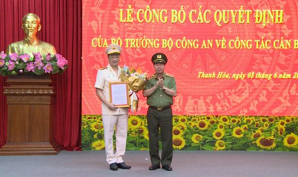 Phó cục trưởng Cục An ninh mạng giữ chức giám đốc Công an tỉnh Thanh Hóa - Ảnh 1.