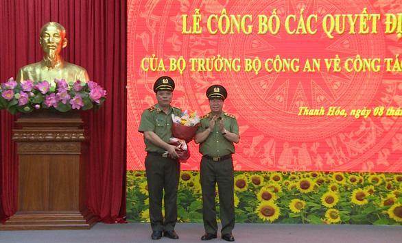 Phó cục trưởng Cục An ninh mạng giữ chức giám đốc Công an tỉnh Thanh Hóa - Ảnh 2.