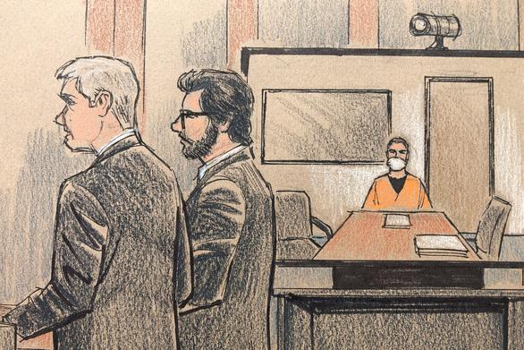Cảnh sát ghì chết George Floyd hầu tòa trực tuyến - Ảnh 1.