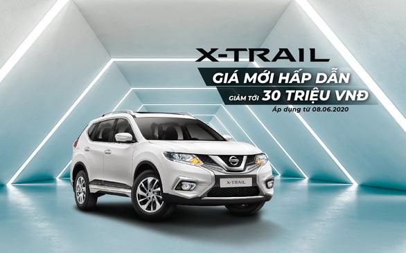 Nissan Việt Nam và TCIE Việt Nam tiếp tục tung ra ưu đãi giá đặc biệt cho Nissan X-Trail - Ảnh 1.
