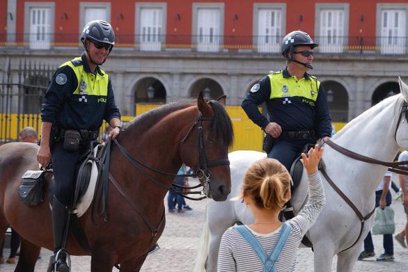 Cảnh sát kỵ binh trên thế giới đang làm những việc gì? - Ảnh 2.