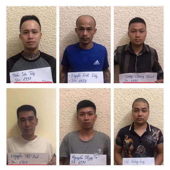 Bắt 6 nghi phạm trong đường dây trộm cắp, tiêu thụ phụ tùng ôtô - Ảnh 1.