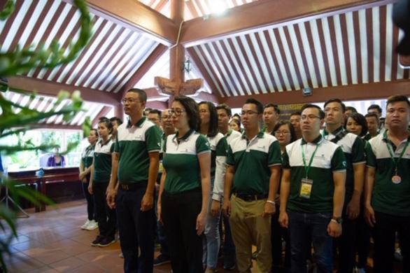 Hơn 700 thanh niên dự hội trại Tuổi trẻ Vietcombank - Sắt son niềm tin với Đảng - Ảnh 6.