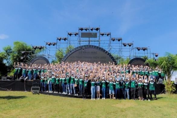 Hơn 700 thanh niên dự hội trại Tuổi trẻ Vietcombank - Sắt son niềm tin với Đảng - Ảnh 7.