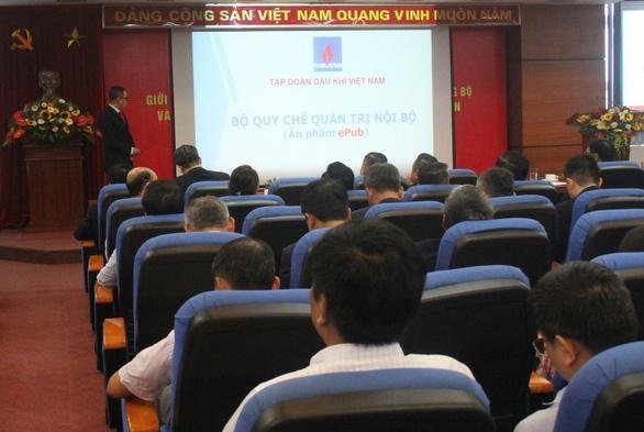 Quy chế quản trị nội bộ Tập đoàn Dầu khí Quốc gia Việt Nam - Ảnh 1.