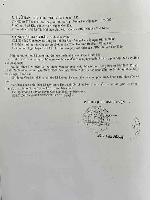 Cảnh cáo chánh án TAND huyện Côn Đảo vì bao che sai phạm của mẹ vợ - Ảnh 2.