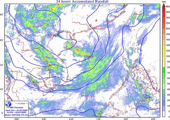 TP.HCM mưa sáng sớm, hôm nay ba miền mưa dông - Ảnh 2.