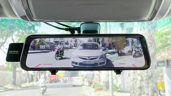 Khắc phục điểm mù gương chiếu hậu với camera hành trình VietMap G39 - Ảnh 2.