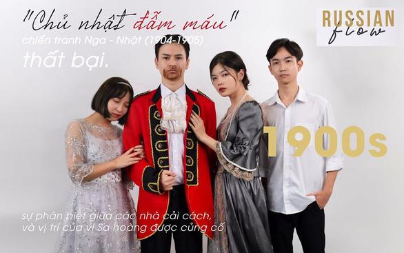 Bánh sừng bò, trang phục quý tộc… vào bộ ảnh lịch sử của học sinh Bắc Ninh - Ảnh 4.