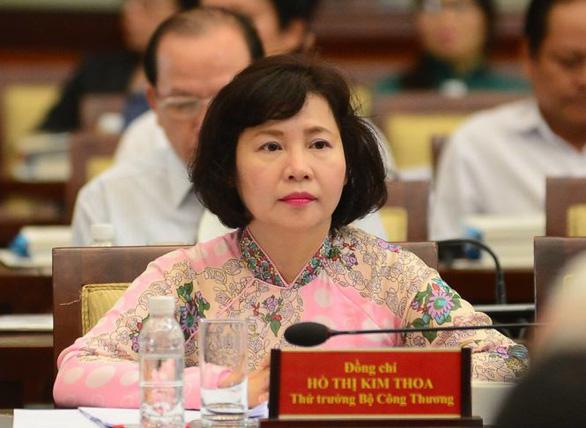 Cựu thứ trưởng Bộ Công thương Hồ Thị Kim Thoa nhận quyết định khởi tố - Ảnh 1.