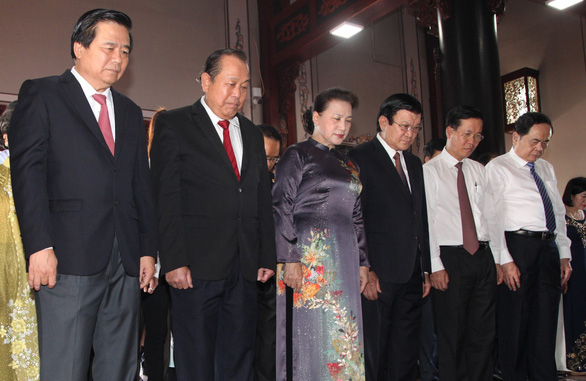 Kỷ niệm 110 năm ngày sinh luật sư Nguyễn Hữu Thọ - Ảnh 2.