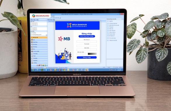MB và MISA ra mắt dịch vụ kết nối ngân hàng số trên phần mềm kế toán - Ảnh 1.