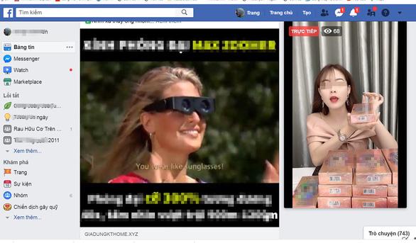 Livestream hàng gian, hàng giả đại náo mạng xã hội - Ảnh 3.