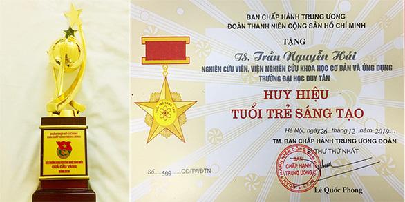 Nhà khoa học của Đại học Duy Tân nhận Giải thưởng Quả Cầu Vàng 2019 - Ảnh 2.