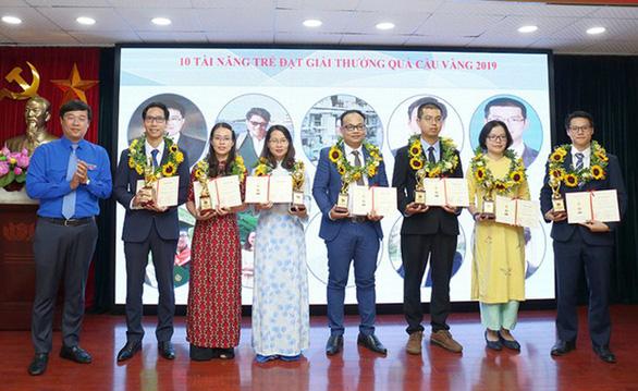 Nhà khoa học của Đại học Duy Tân nhận Giải thưởng Quả Cầu Vàng 2019 - Ảnh 1.