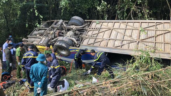 Vụ tai nạn khiến 5 người chết ở Kon Tum: Xe chạy không đúng lộ trình - Ảnh 1.