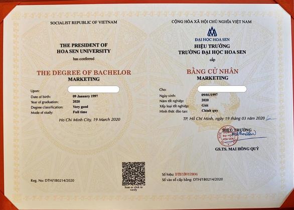 Đại học đầu tiên cấp bằng tốt nghiệp theo công nghệ blockchain quốc tế - Ảnh 1.