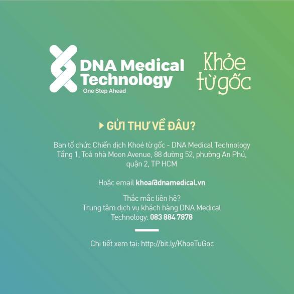 Chiến dịch giải mã gen miễn phí cho người thân của bệnh nhân ung thư - Ảnh 4.