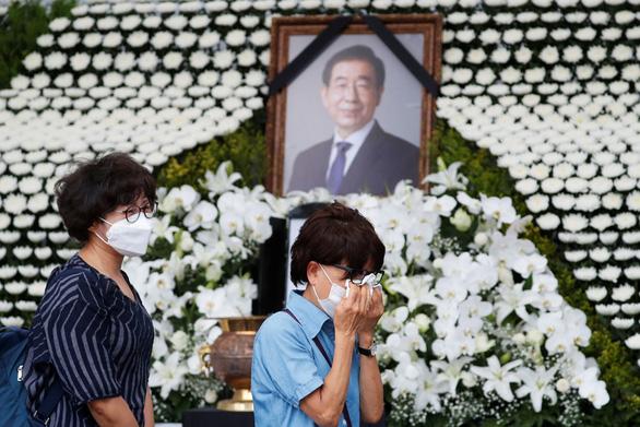Hàn Quốc tổ chức tang lễ trực tuyến cho cố thị trưởng Seoul - Ảnh 1.