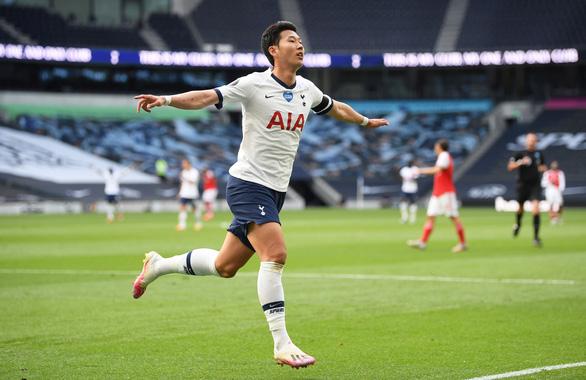 Son Heung-Min 'nổ súng', Tottenham thắng ngược Arsenal trong trận derby London - Ảnh 2.