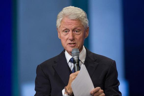 Cựu tổng thống Bill Clinton: Biết ơn 25 năm quan hệ đối tác Việt - Mỹ - Ảnh 1.