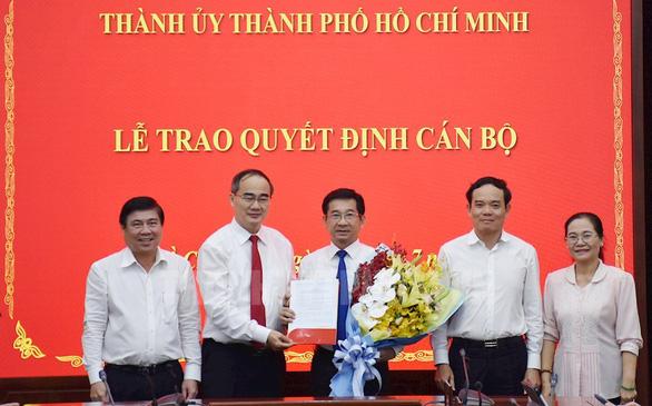 Ông Dương Ngọc Hải làm chủ nhiệm Ủy ban Kiểm tra Thành ủy TP.HCM - Ảnh 1.