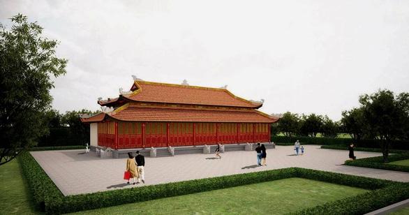 Khánh thành đền thờ vua Hàm Nghi cùng tướng sĩ Cần Vương: Ngôi đền của lòng yêu nước - Ảnh 1.