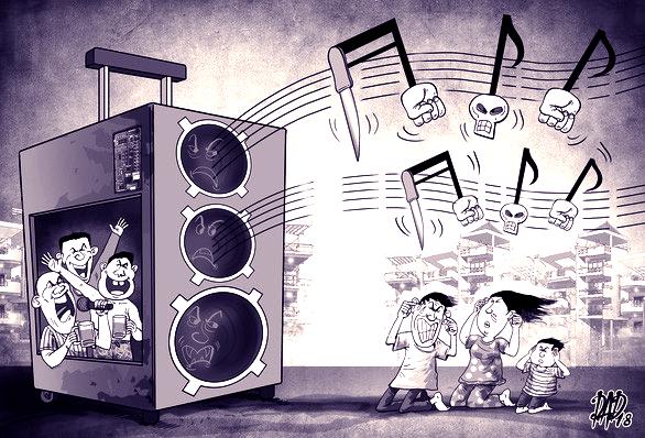 Một nghị quyết về karaoke, loa thùng và loa kẹo kéo! - Ảnh 1.