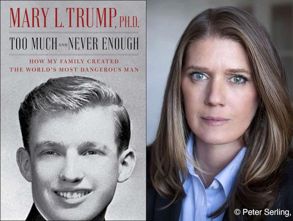 Cháu gái Mary Trump tiếp tục công kích chú Donald Trump: 'Hãy từ chức' - Ảnh 2.