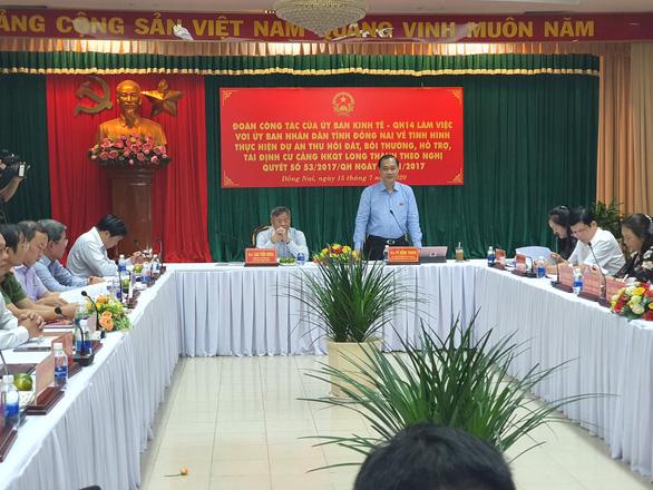 Chậm tiến độ dự án sân bay Long Thành: Nói Đồng Nai ôm tiền không giải ngân thì oan cho tỉnh - Ảnh 1.