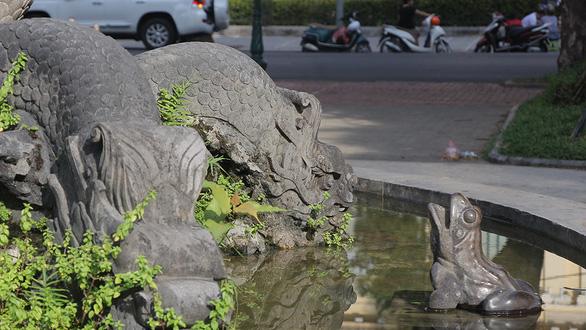 Đài phun nước gần 120 năm tuổi tại vườn hoa Con Cóc chờ lột xác - Ảnh 2.