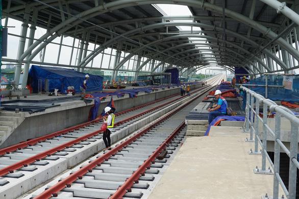 Bắt đầu đào tạo lứa lái tàu metro số 1 (Bến Thành - Suối Tiên) đầu tiên - Ảnh 1.