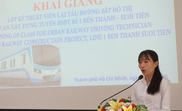 Bắt đầu đào tạo lứa lái tàu metro số 1 (Bến Thành - Suối Tiên) đầu tiên - Ảnh 2.