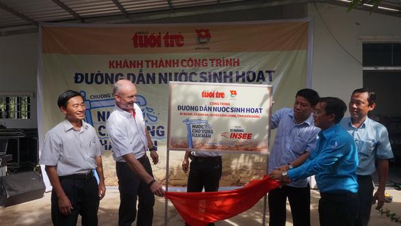 Khánh thành công trình nước sạch cho vùng hạn mặn Kiên Giang - Ảnh 1.