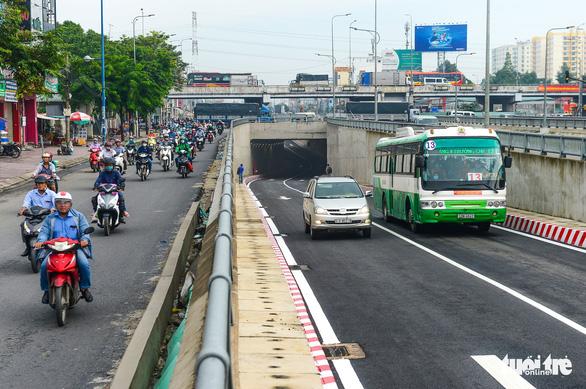TP.HCM thông xe nhánh N2 hầm chui An Sương để giảm ùn tắc cửa ngõ Tây Bắc - Ảnh 4.