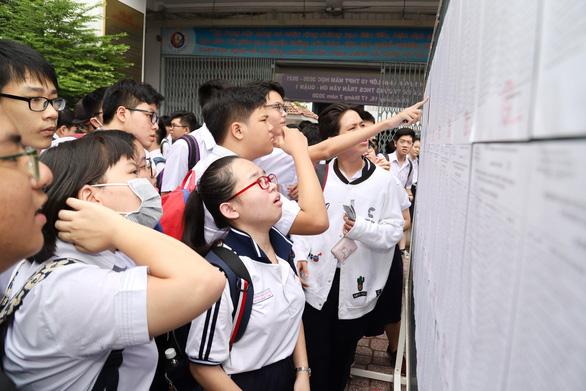 Tuyển sinh lớp 10 tại TP.HCM: Dễ thở với lớp tích hợp, căng thẳng với lớp chuyên - Ảnh 1.