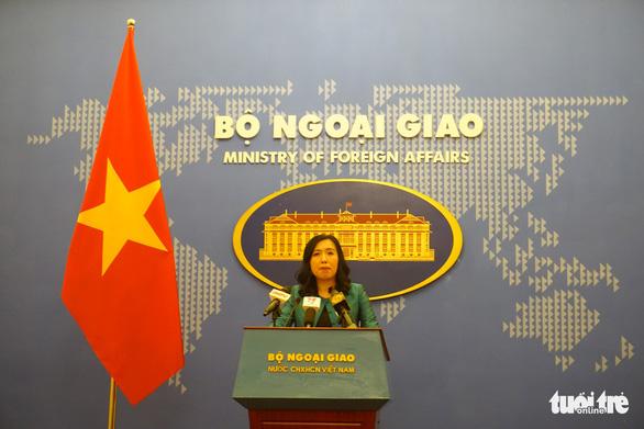 Việt Nam lên tiếng về tuyên bố lập trường của Mỹ ở Biển Đông và yêu sách của Trung Quốc - Ảnh 1.