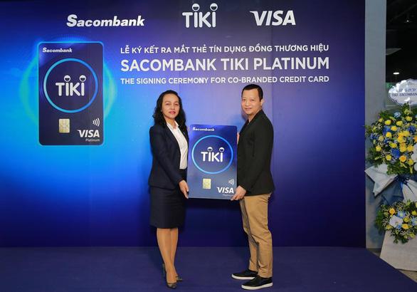 Thẻ tín dụng Sacombank Tiki Platinum - giải pháp mua sắm thông minh - Ảnh 1.