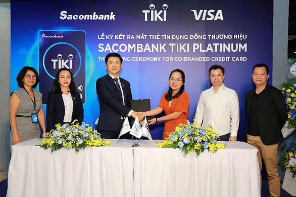 Thẻ tín dụng Sacombank Tiki Platinum - giải pháp mua sắm thông minh - Ảnh 2.