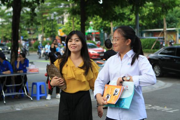 Thi vào lớp 10 Hà Nội: Có thể dùng thẻ căn cước công dân thay phiếu báo thi - Ảnh 1.