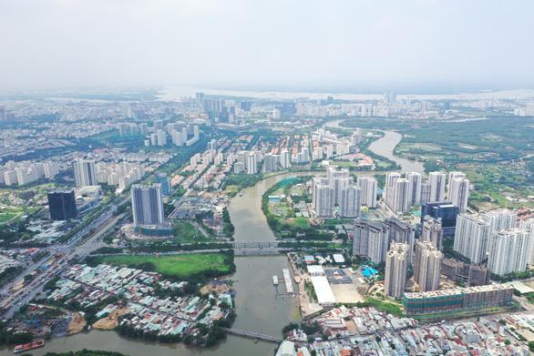Tìm lời giải cho giao thông, đô thị Nam Sài Gòn - Ảnh 1.