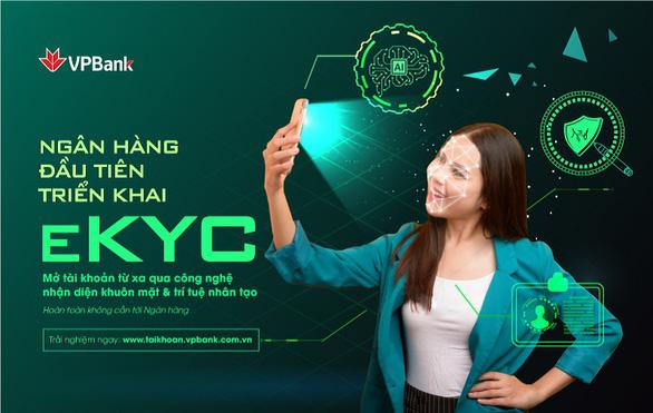 VPBank: khách hàng mở tài khoản từ xa qua các thông tin sinh trắc học - Ảnh 1.