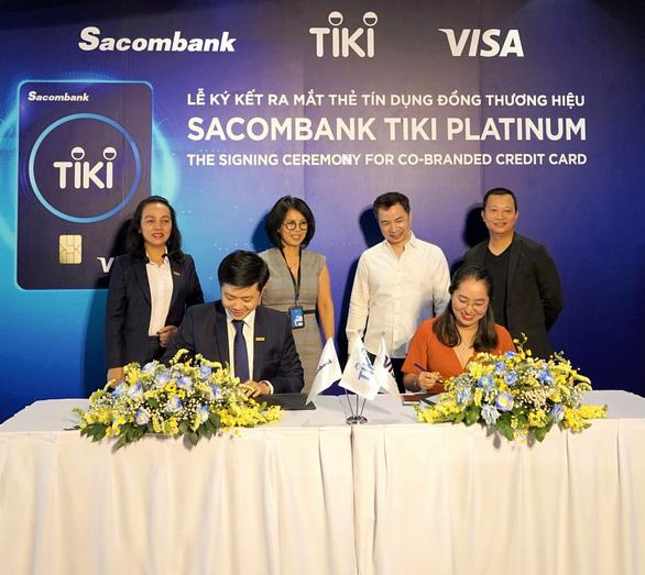 Thẻ tín dụng Sacombank Tiki Platinum - giải pháp mua sắm thông minh - Ảnh 3.
