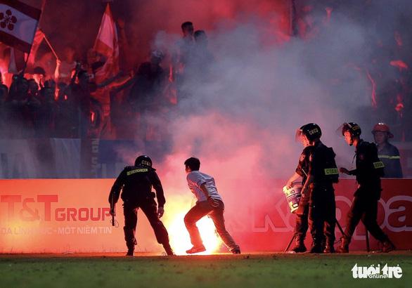Hà Nội FC không muốn năm thứ 4 liên tiếp phải nộp phạt vì CĐV Hải Phòng - Ảnh 2.