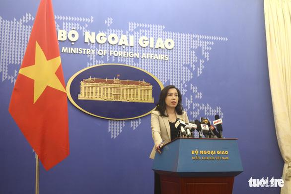 Bộ Ngoại giao Việt Nam nói về Biển Đông tại họp báo chiều 16-7