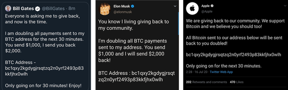 Twitter của Obama, Joe Biden, Bill Gates, Elon Musk bị hack để lừa bitcoin - Ảnh 1.