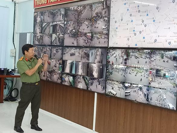 TP.HCM dần phủ sóng hệ thống camera nhận dạng người và xe cộ - Ảnh 1.