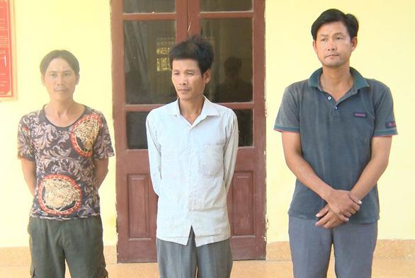 Tạm giữ 3 nghi phạm chặt hơn 700 cây keo vì không được chăn thả bò - Ảnh 2.